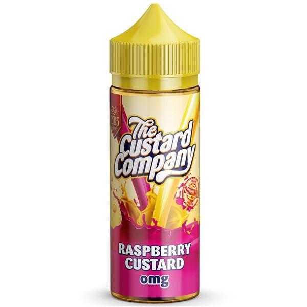 Raspberry Custard E Liquid 100ml by The Custard Company