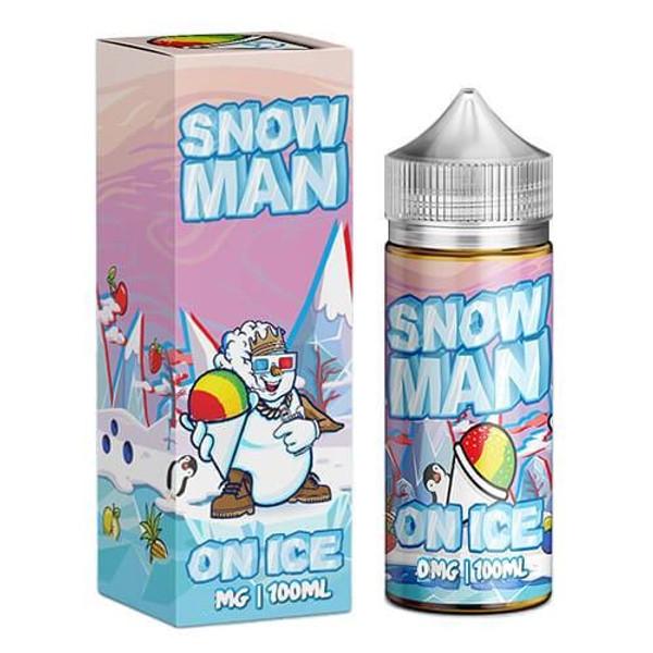 Snow Man On Ice E Liquid 100ml by Juice Man USA