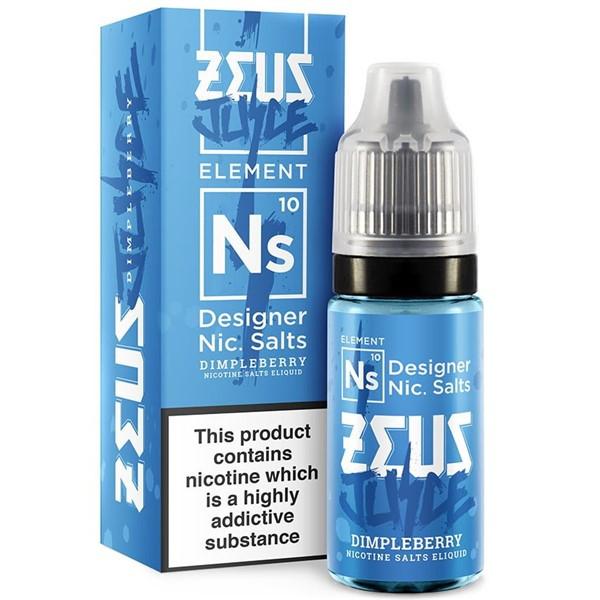 Dimpleberry Nic Salt E Liquid 10ml by Zeus Juice