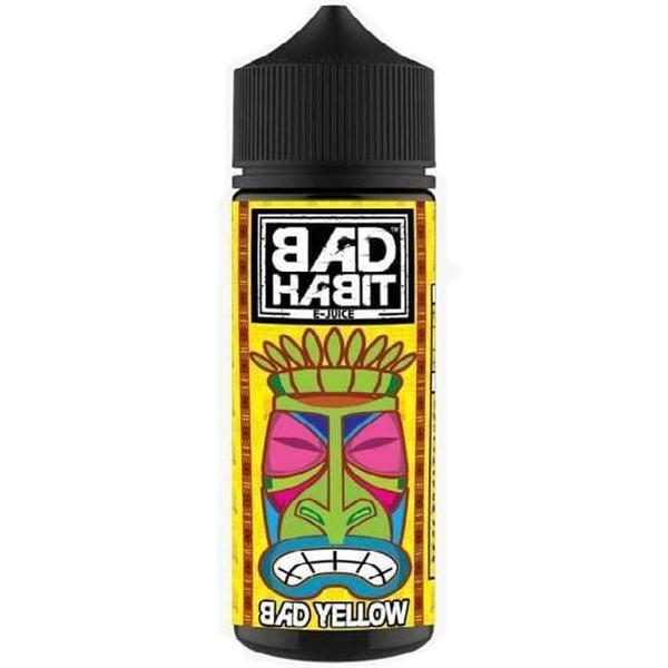 Bad Yellow E Liquid 100ml by Bad Habit