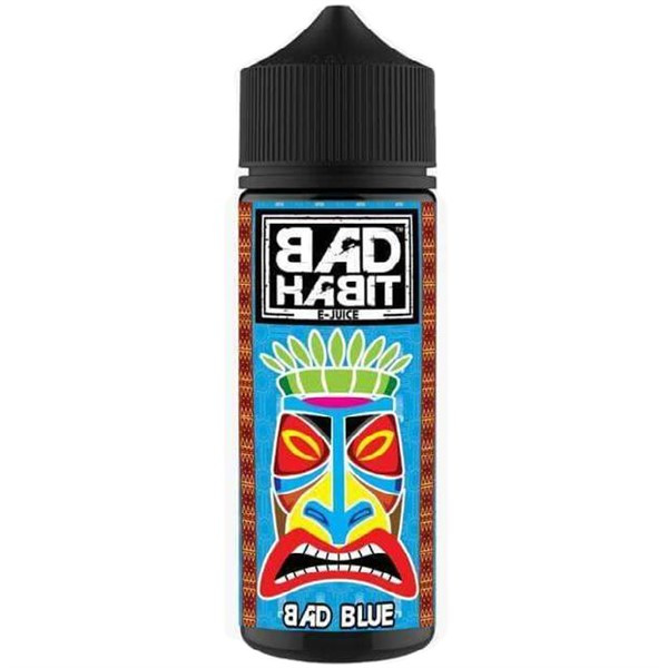 Bad Blue E Liquid 100ml by Bad Habit