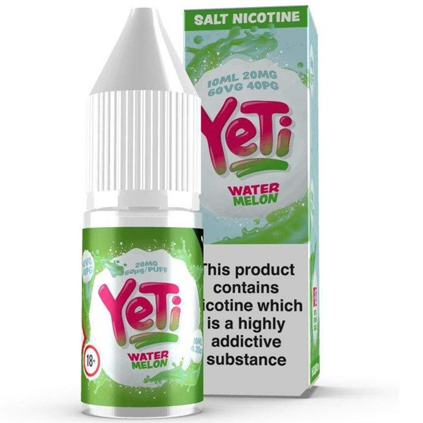 Watermelon Ice Nic Salt E Liquid 10ml By Yeti