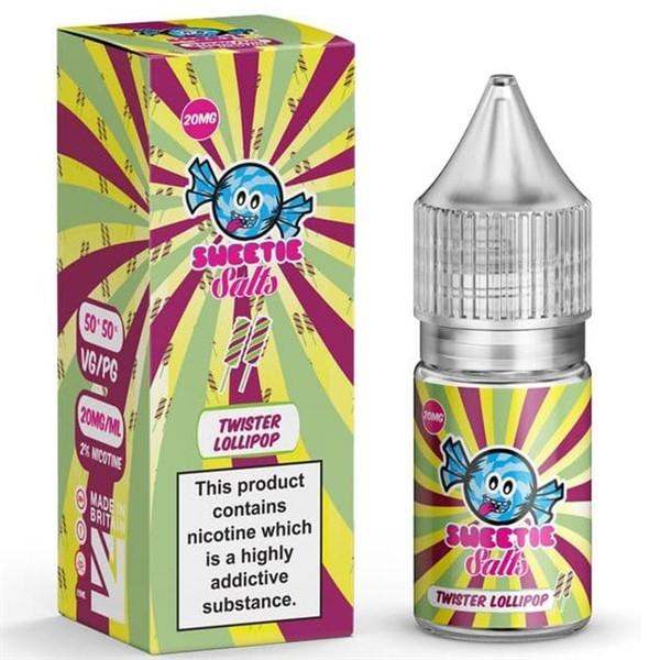 Twister Lollipop Slush Nic Salt E Liquid 10ml By Slushie Salts