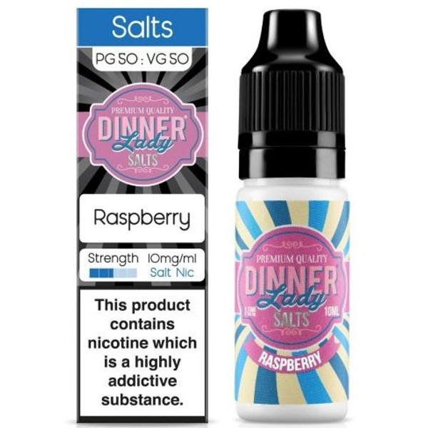 Raspberry Nic Salt E Liquid 10ml By Dinner Lady