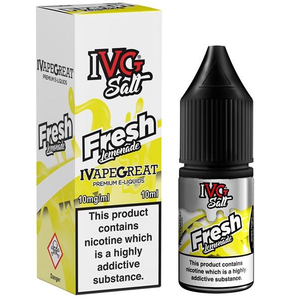 Fresh Lemonade Nic Salt E Liquid 10ml By I VG