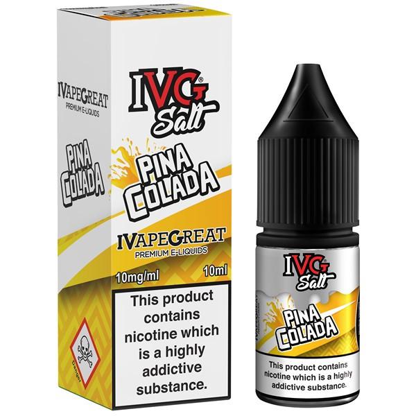 Pina Colada Nic Salt E Liquid 10ml By I VG