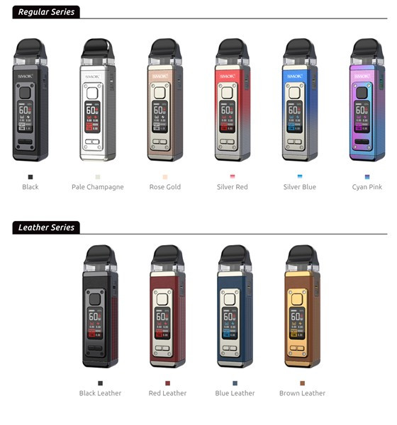 RPM 4 Kits Colour / Finish Options