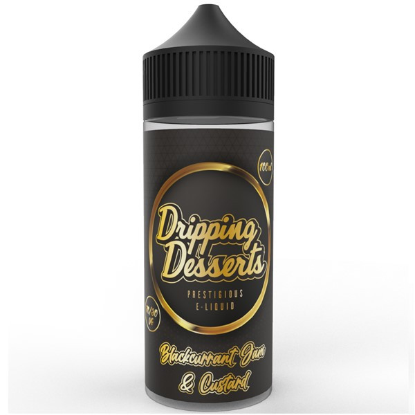 Blackcurrant Jam & Custard E Liquid 100ml by Dripping Desserts