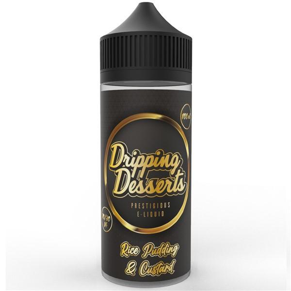 Rice Pudding & Custard E Liquid 100ml by Dripping Desserts