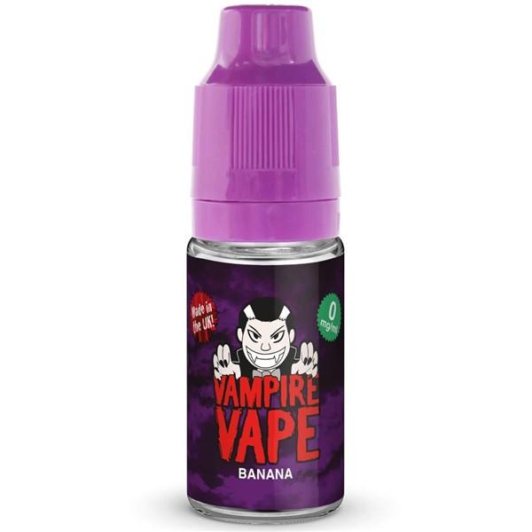 Banana E Liquid 10ml By Vampire Vape