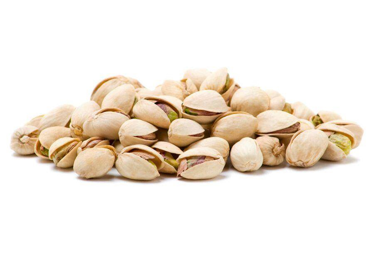 pistachios shell unsalted roasted salt nuts
