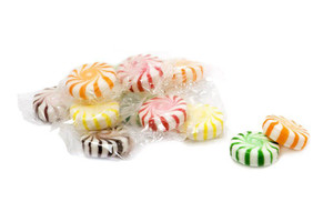 Assorted Starlight Mints pile