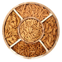 Deluxe Assorted Sesame Sticks Gift Tray top view