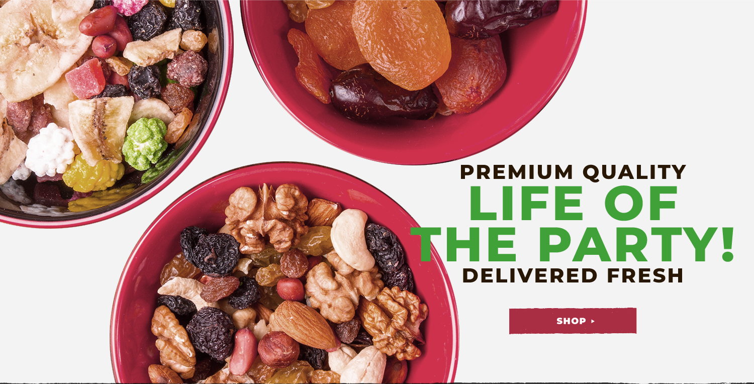 Sincerely Nuts - Order Premium Bulk Nuts, Seeds, Dried Fruit