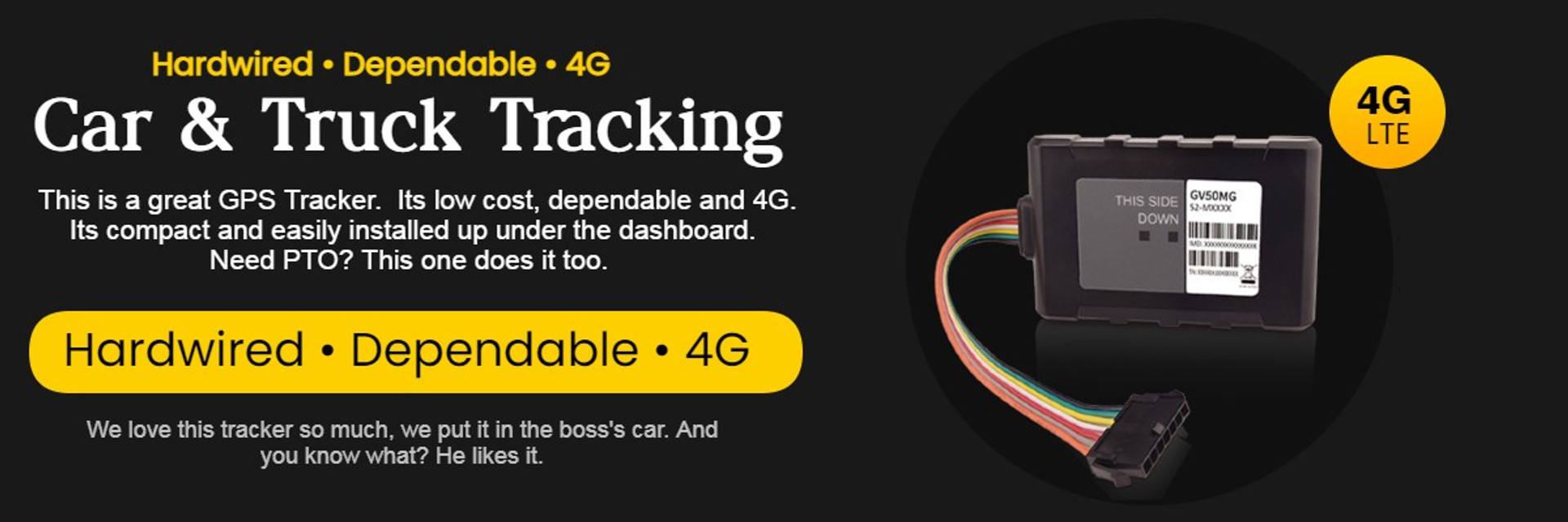 wired and obd-ii GPS Trackers for Cars and Trucks