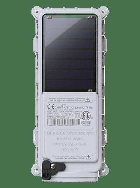 Solar Powered Satellite GPS Tracking Device.  Worldwide Coverage.  Satellite data transmission.