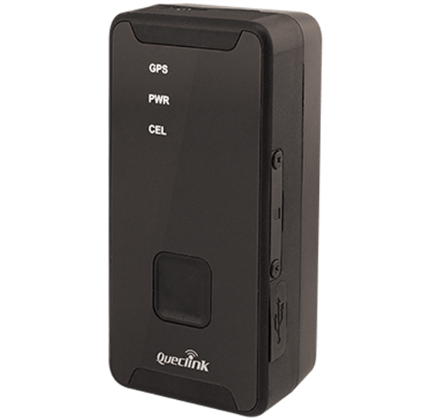Pocket sized, battery powered GPS tracking device, great for tracking people or shipments.