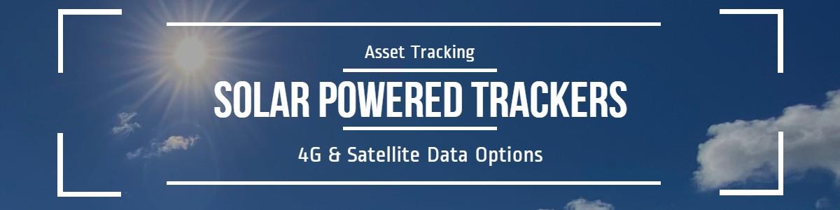 Solar Powered Trackers: 4G & Satellite Data