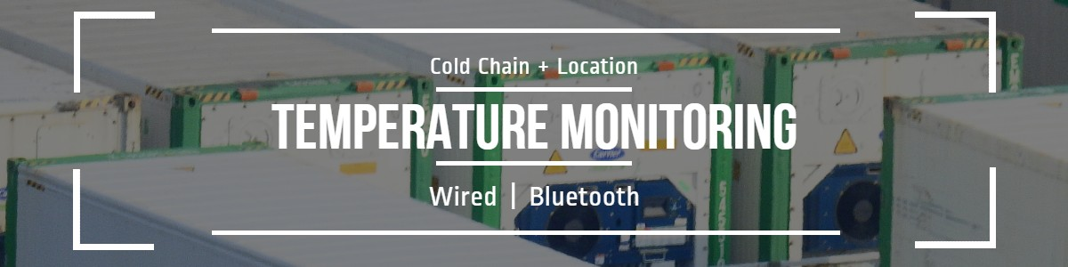 Cold Chain + Location = gps tracking with temperature monitoring