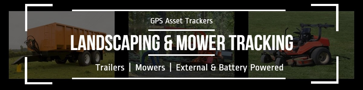 GPS Tracking for landscaping and mower equipment theft detection