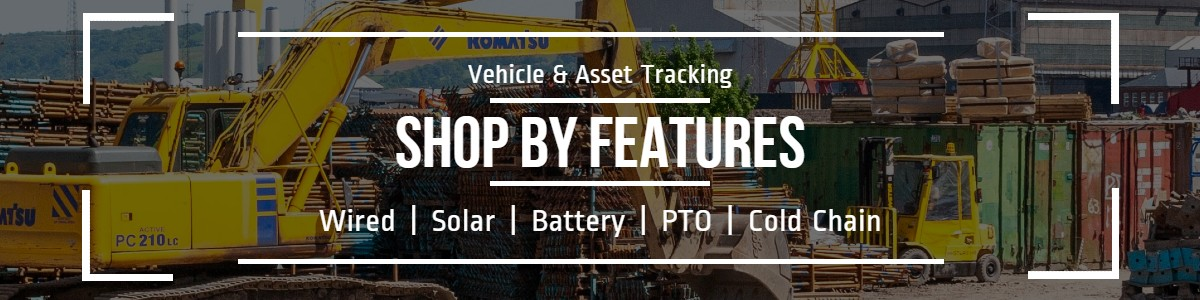 Shop for your favorite GPS Tracking Device features: solar, battery, Cold Chain, wired