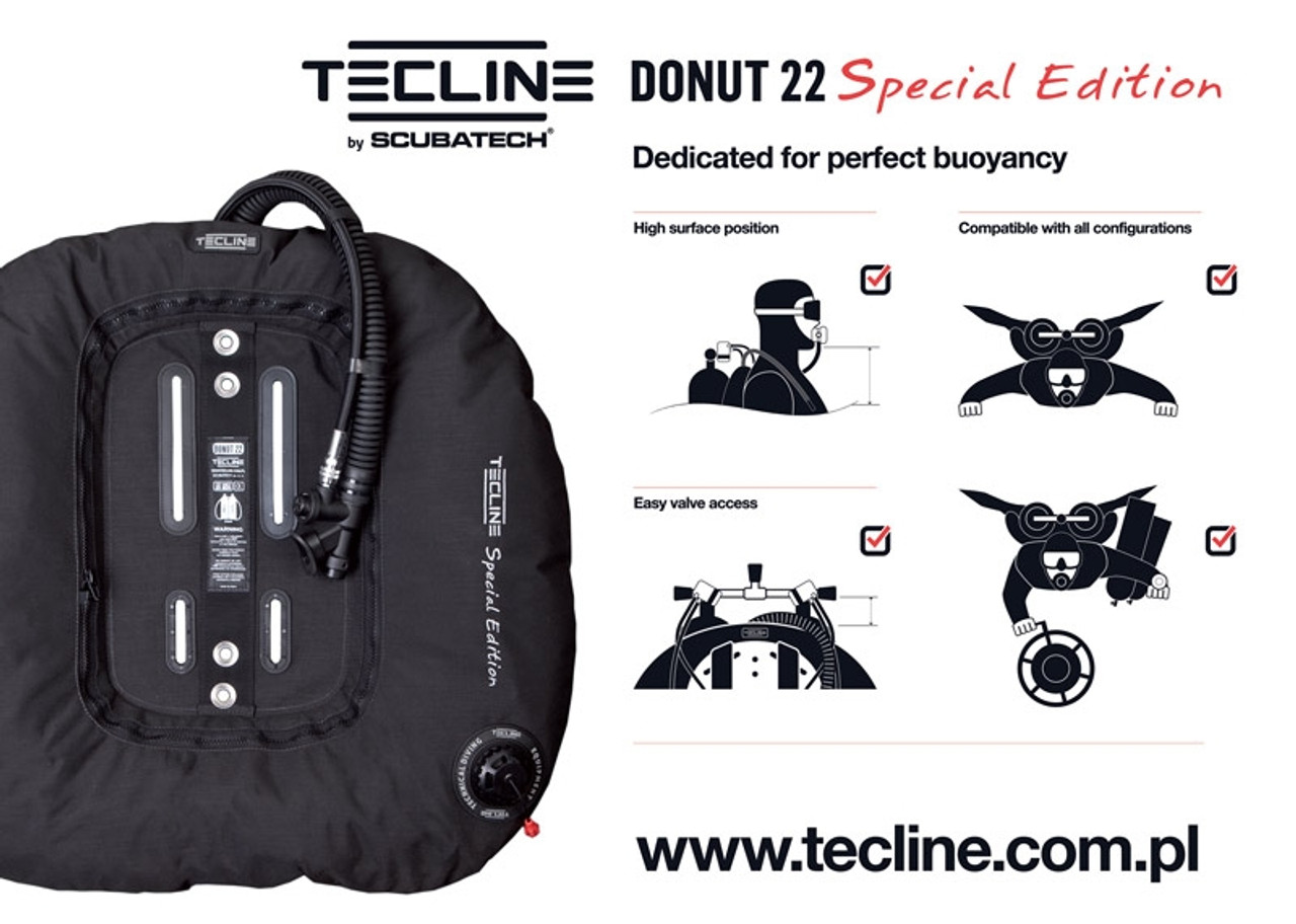 Tecline Set Donut 22 Special Edition