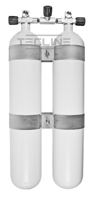 Twin Tank 2x8.5L 232bar Eurocylinder 140mm