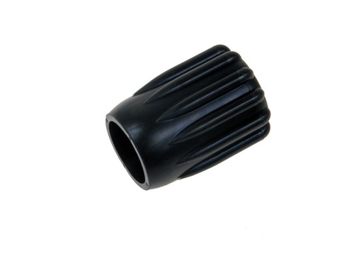 Draaiknop 51mm zwart