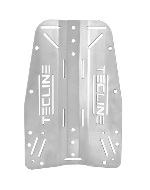 Tecline Back plate RVS 3mm