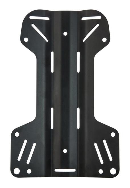 Tecline Back plate Aluminium H-vorm
