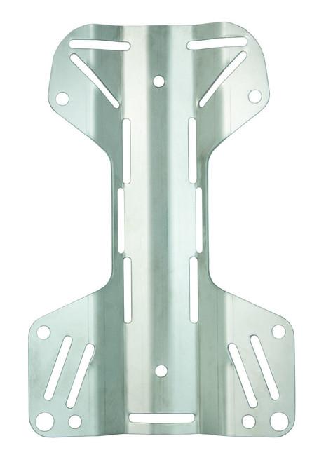 Tecline Back plate RVS 3mm MINI H-vorm
