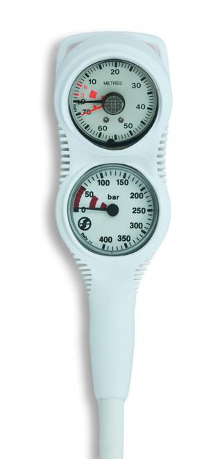 Tecline Console S-Tech Mini Manometer + Dieptemeter WIT