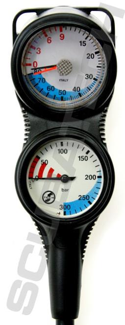 Tecline Console S-Tech Manometer + Dieptemeter
