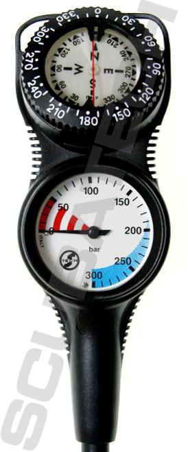 Tecline Console S-Tech Manometer + Kompas