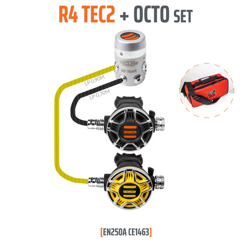 Tecline R 4 TEC2 + Octo