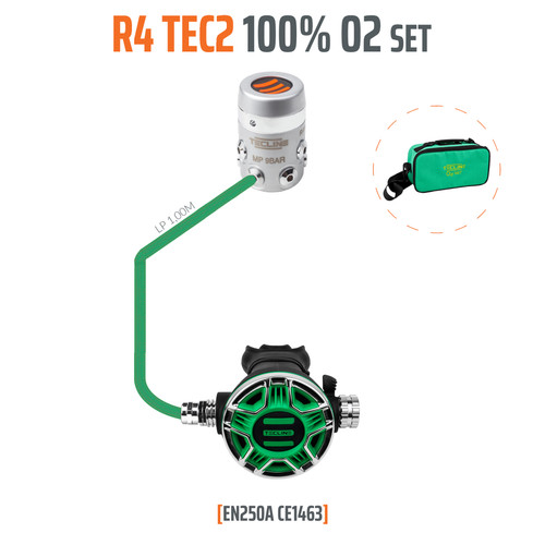 Tecline R 4 TEC2 O² set M26