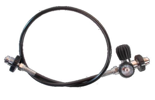 Druk Gelijkrichter 2 x DIN (Incl. Manometer)