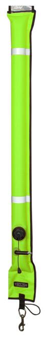 Tecline Gesloten boei 11/117 GEEL met metalen valve