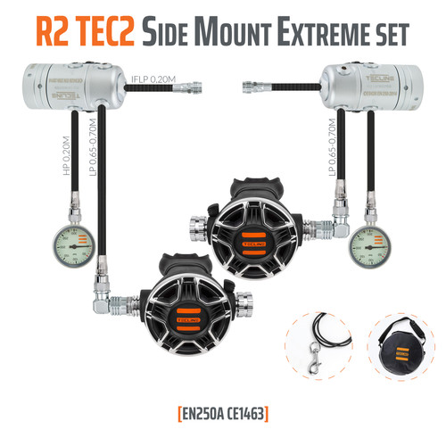 Tecline R 2 TEC2 Side Mount Extreme Set