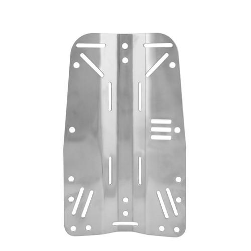 Tecline Back plate RVS 3mm MIDI