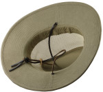 Safari Mesh Big Head Hats underside