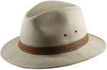 Cotton Safari Big Head Hats - Khaki