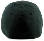 Flexfit Fitted Low Profile Big Hats Black Back