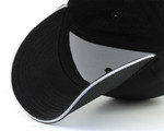 Adjustable Baseball Large Hats - Black