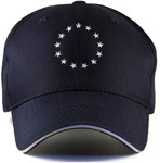 American Revolution Caps for Big Heads Front