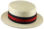 Straw Boater Big Hat 2xl