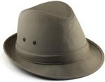 2XL Fedora Hat - Khaki