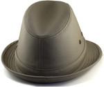 2XL Fedora Hat Khaki Back