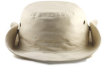 Extra Big Size Bucket Hat (Snaps on Side) Front