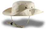 Extra Big Size Bucket Hat (Snaps on Side) - Natural
